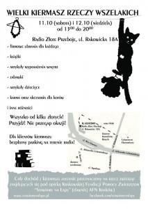 Wielki Kiermasz Rzeczy Wszelakich edycja jesienna !!!