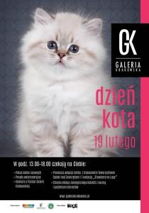 Dzień Kota w Galerii Krakowskiej 19 luty !!!
